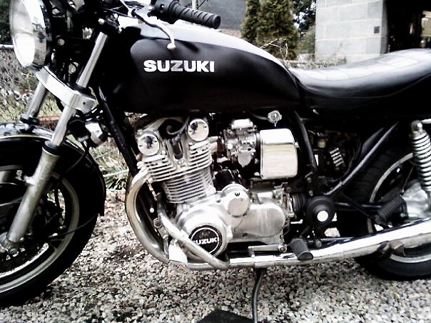 Reader Wolfgang Weimer's beautiful example of a 1981 Suzuki GS1000G