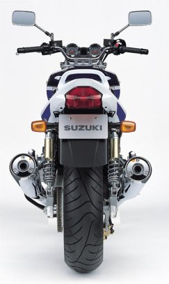 Suzuki gsx1400 - What you gon'do with all that junk?
