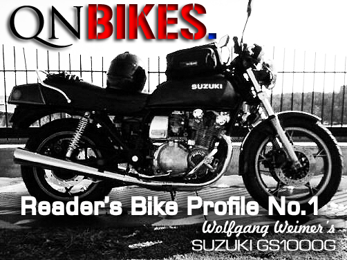 QN Reader's Bike Profile No. 1 - Wolfgang Weimer's 81 Suzuki GS1000G