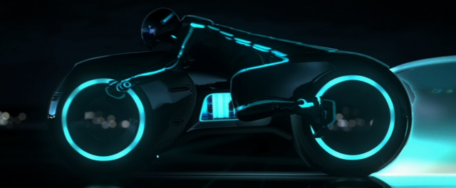 """Tron Cycle - Much like the Ducati Sports Classic 1000, A """"new"""" version of an old bike."""