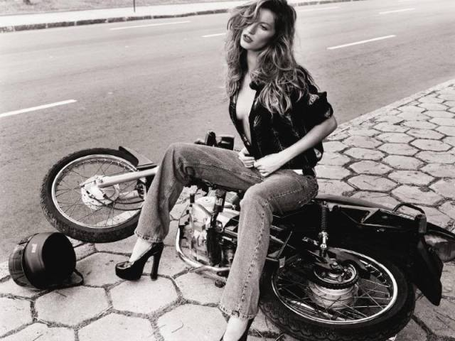 Beautiful motorcycle photograph
