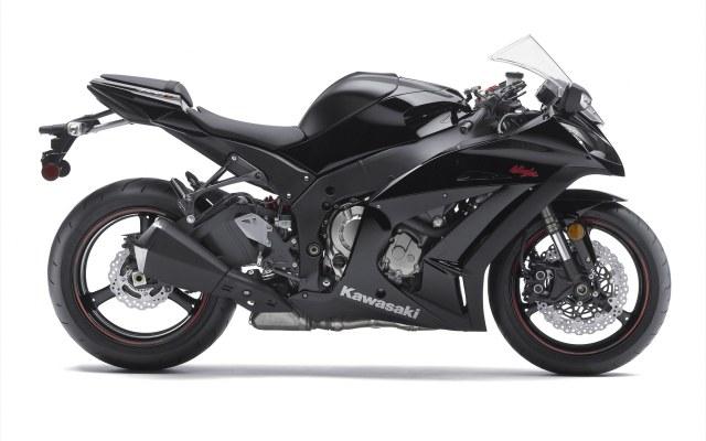 black 2011 Kawasaki-Ninja-ZX-10R