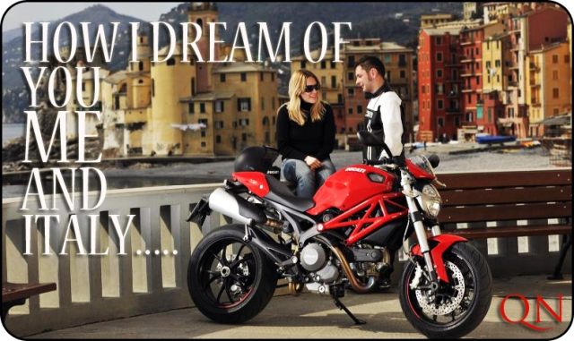 red ducati monster 797