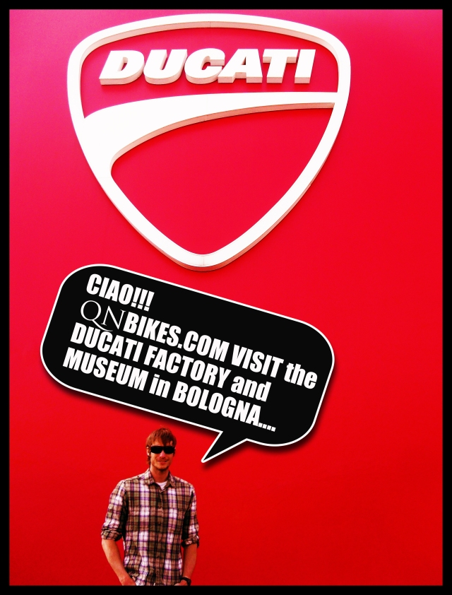 Bologna Ducati Factory tour and museo/museum