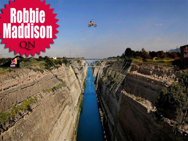 robbie maddison canyon stunt rider qnbikes.com