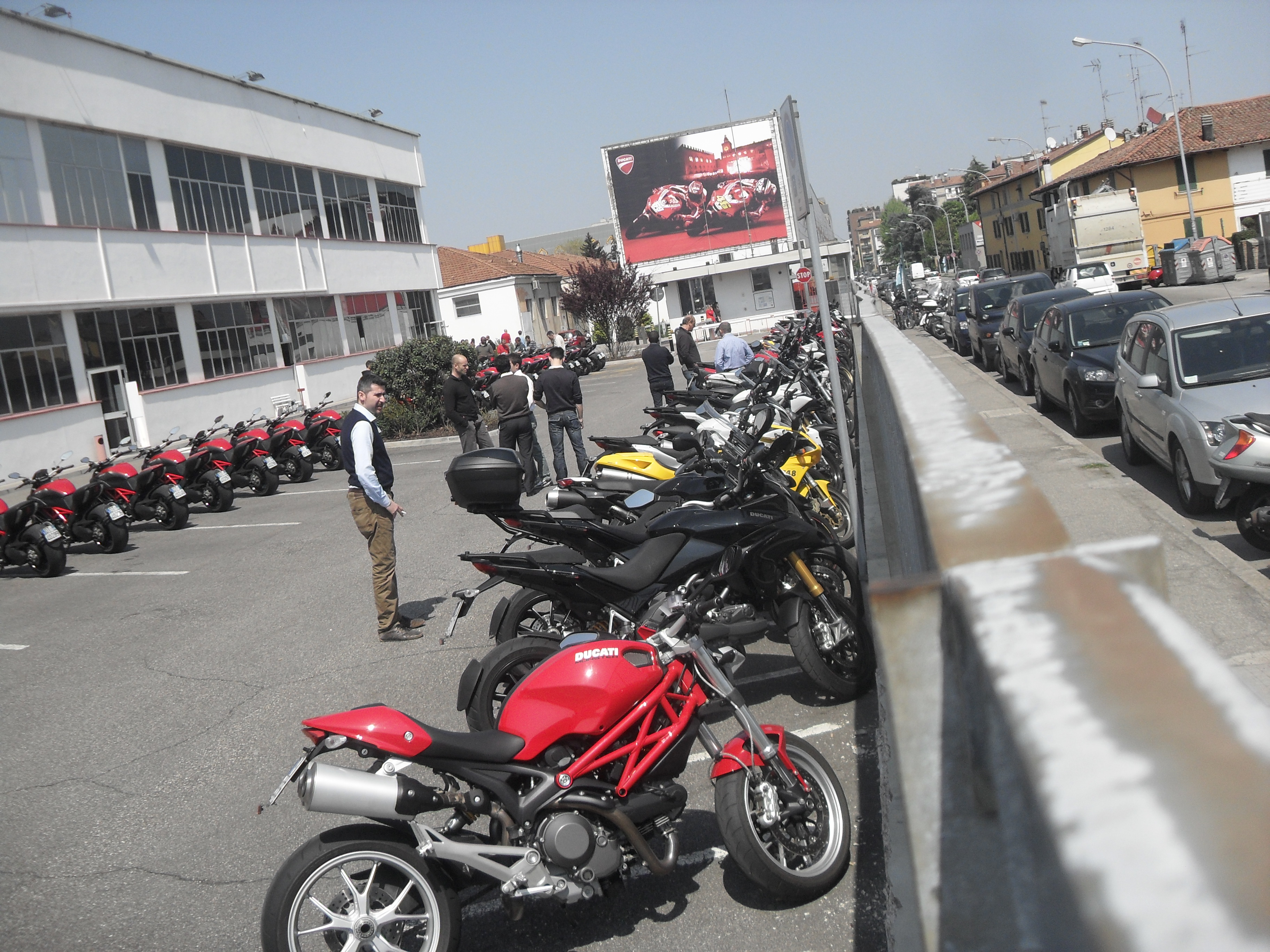 Ducati Factory Tour Bologna Italy