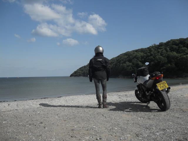 Motorcycle honda cbf600