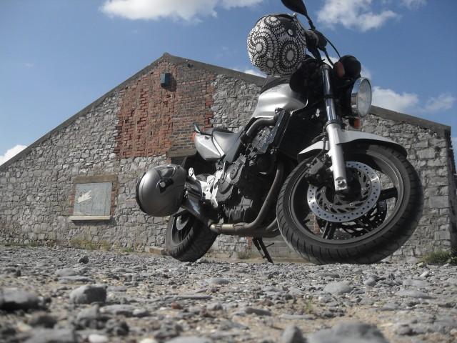 Honda 600 CBF Silver