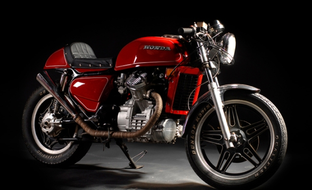 red cafe racer