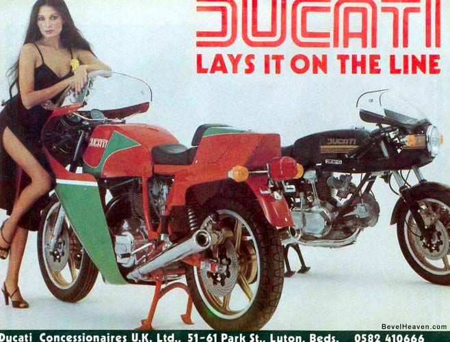 Vintage Ducati Poster 88