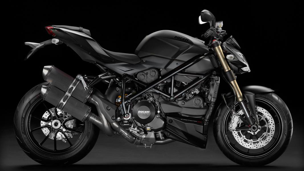 2012 Ducati Street Fighter 848 Released In Black Version