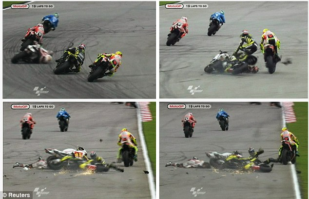 Marco Simoncelli Dead Aged 24 – Marco Simoncelli Crash in Malaysia |  QNBIKES. Motorcycle Blog for Bikers