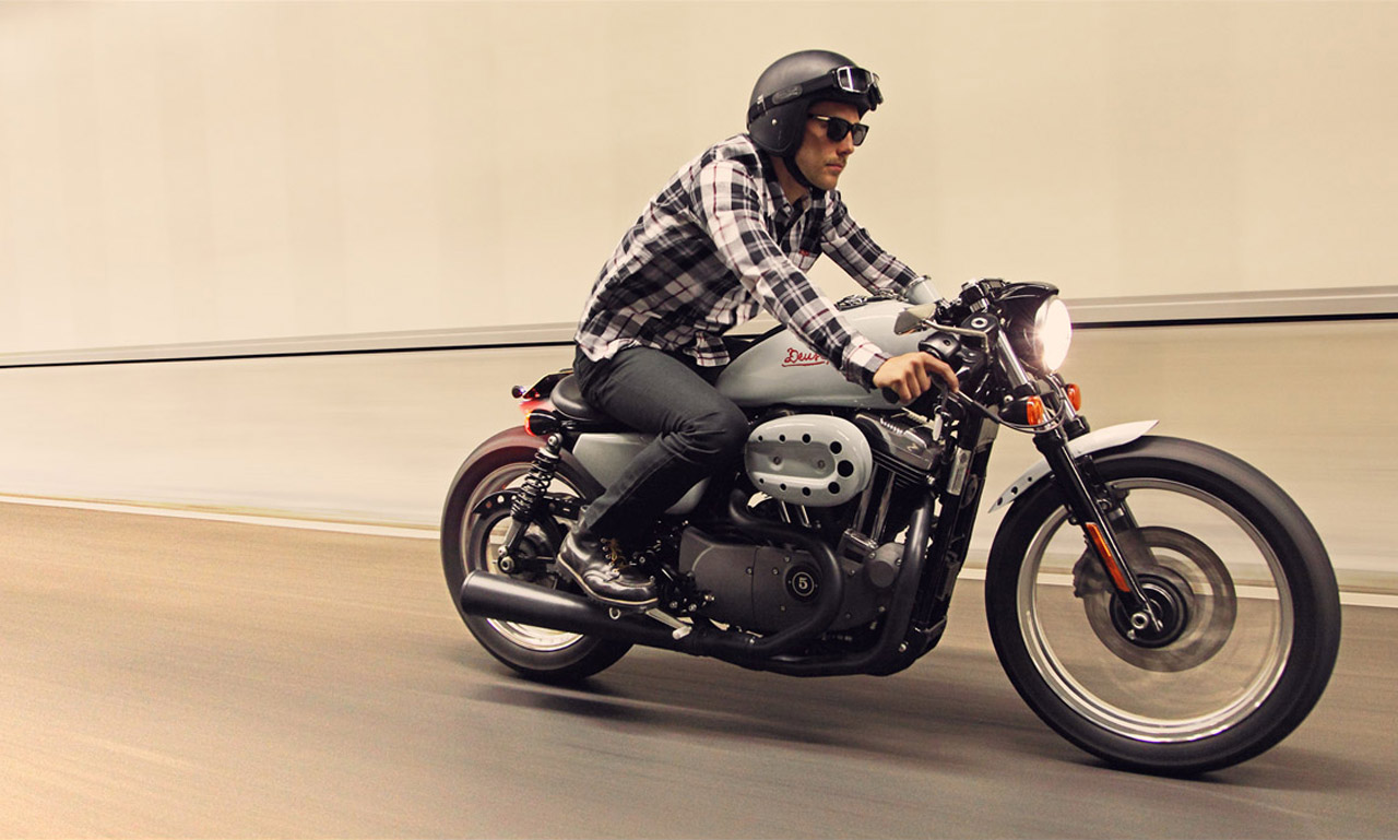 Harley Vintage Cafe Racer