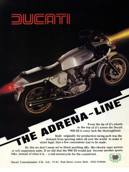 retro ducati motorcycle poster the adrena line