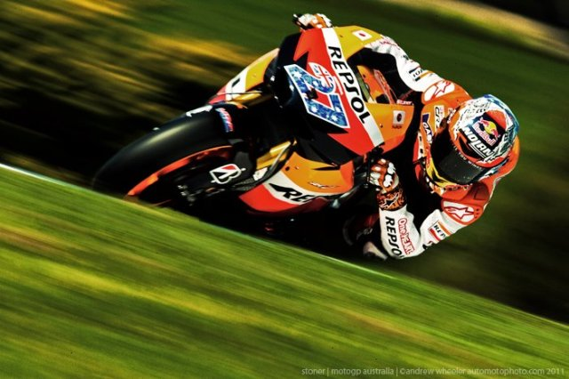 Motogp Casey Stoner photo 2011