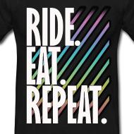 Retro Motorcycle T Shirts - LA Biker T Shirts