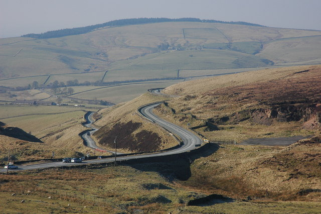 Cat and Fiddle motorcycle road