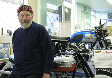 Bill-Crosby-London-Motorcycle-Museum-Founder