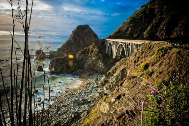 PCH AKA Pacific Coast Highway Road - USA Motorcycle Touring