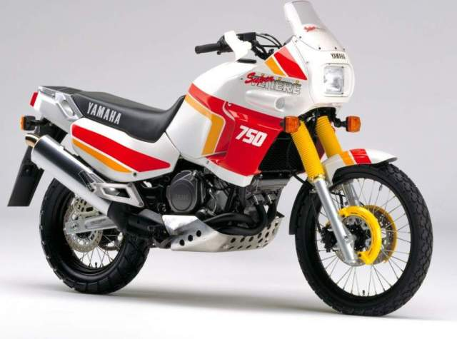 yamaha XTZ750 1989 adventure motorcycle