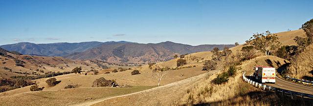 Traralgon to Licola Motorcycle Route Australia