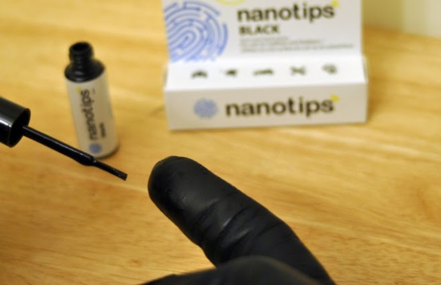 Nanotips Application Motorcycle Gloves